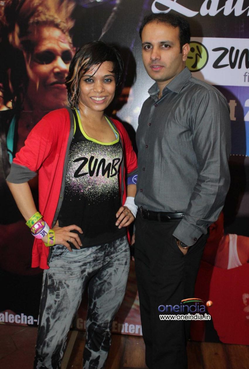 Kajal Aggarwal at Zumba Session at Gold Gym Bandra Photos