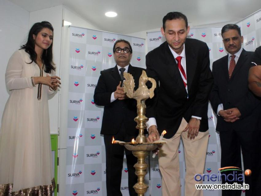 Kajol inaugurates child care hospital Neonatal Intensive Care Unit Photos