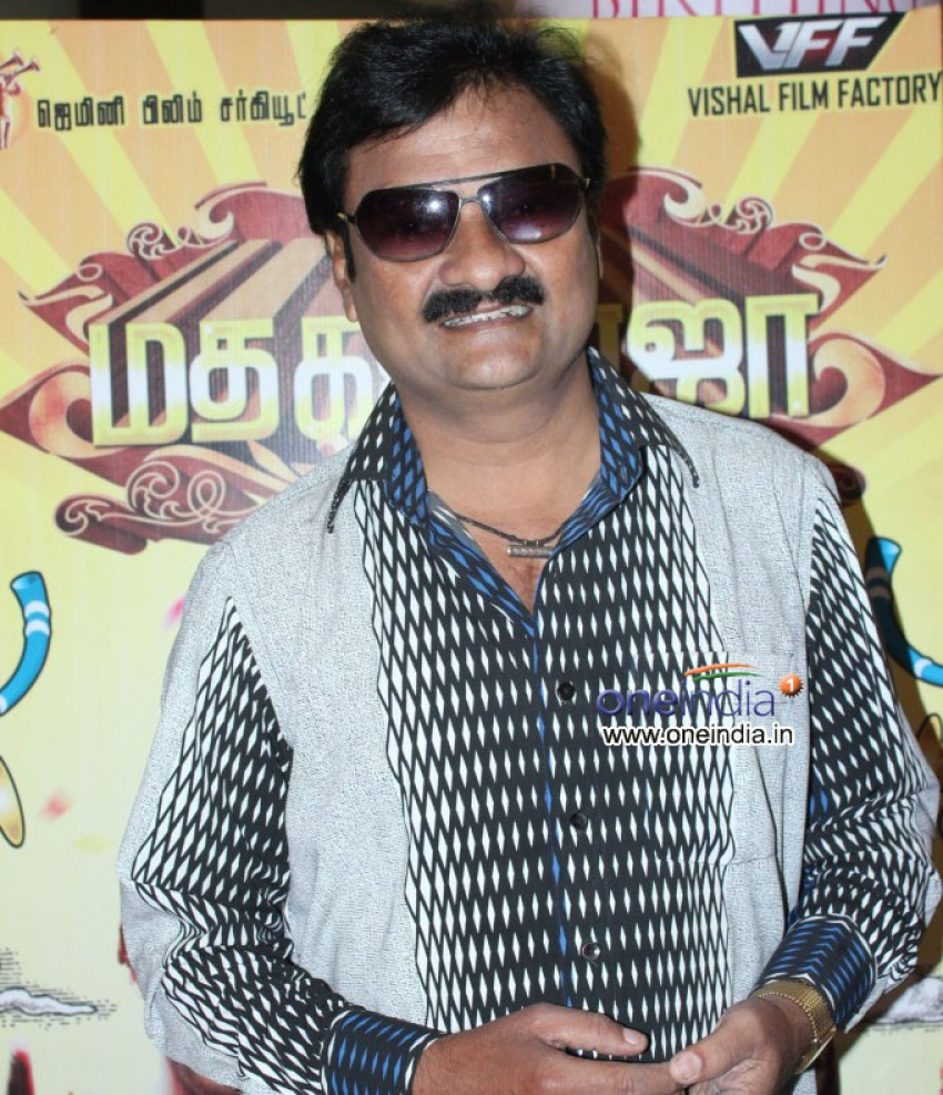 Madha Gaja Raja Press Meet Photos