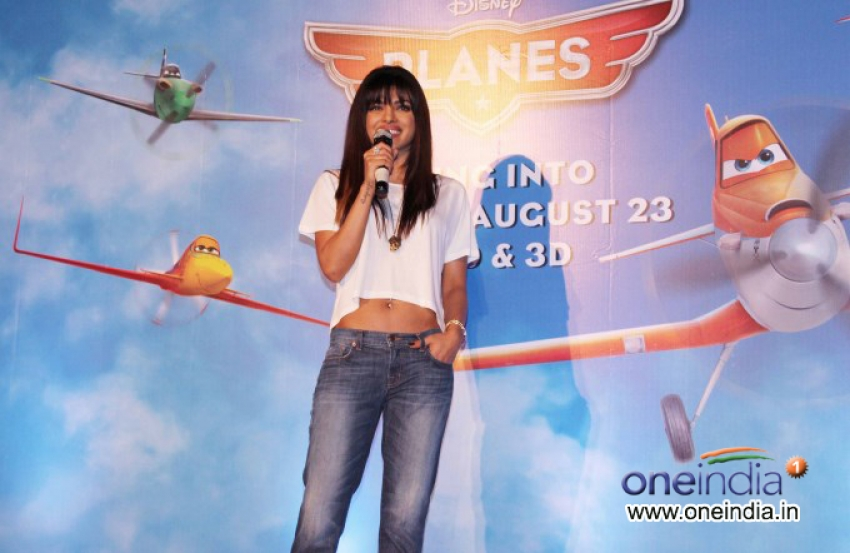 Priyanka Chopra is the voice of Ishani in Disney Planes Photos