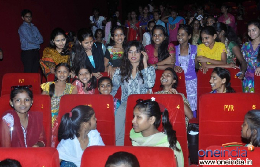 Special Screening of Disney's Planes for NGO Kids Photos