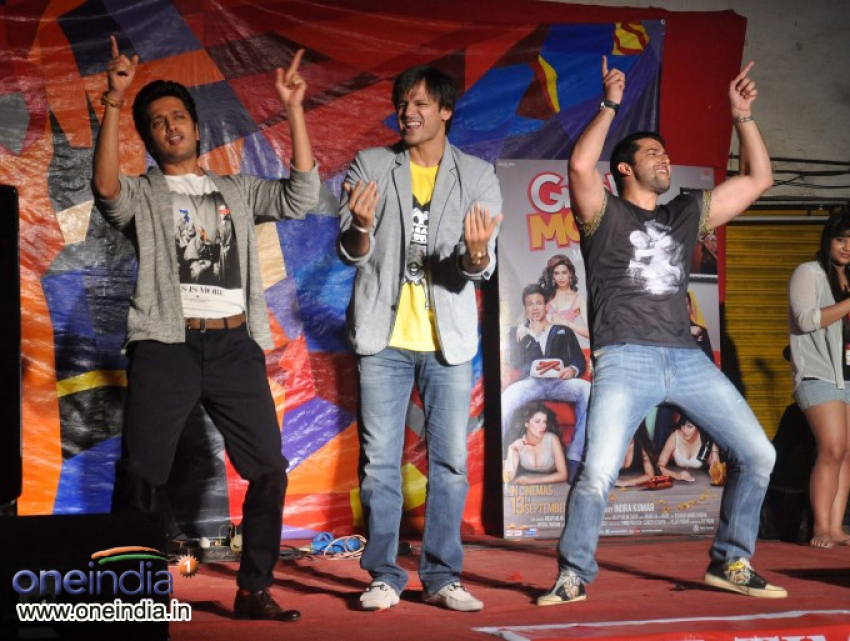 Grand Masti team at Malhar Festival 2013 Photos