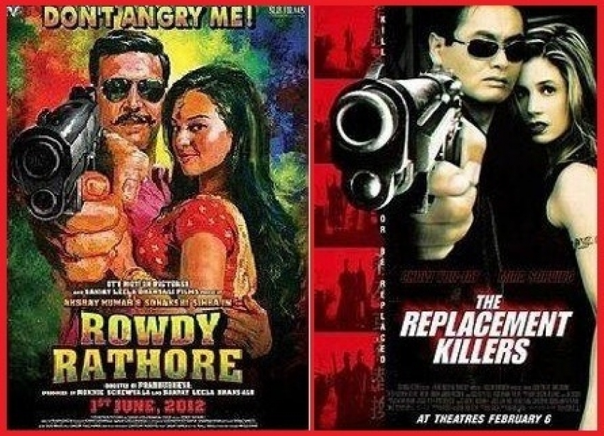 Bollywood posters inspired from Hollywood Photos