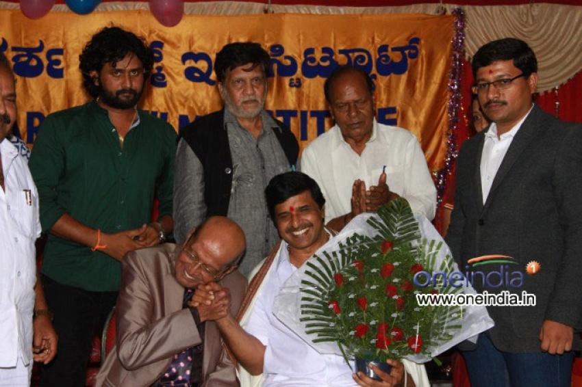 S. Narayan Takes Charge as Principal of Adarsha Film Institute Photos