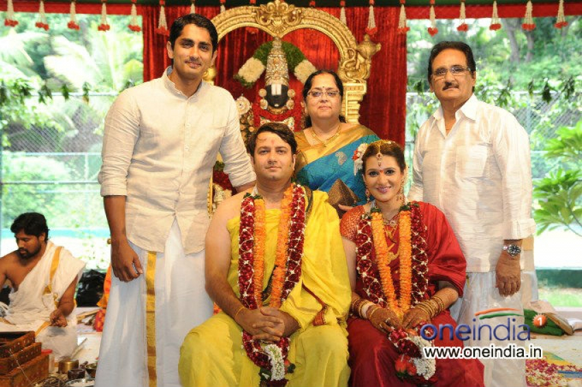 Chakravarthy Ramachandra Wedding Photos