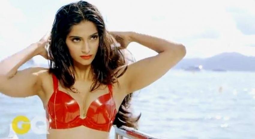 Sonam Kapoor GQ Hot Photoshoot Photos