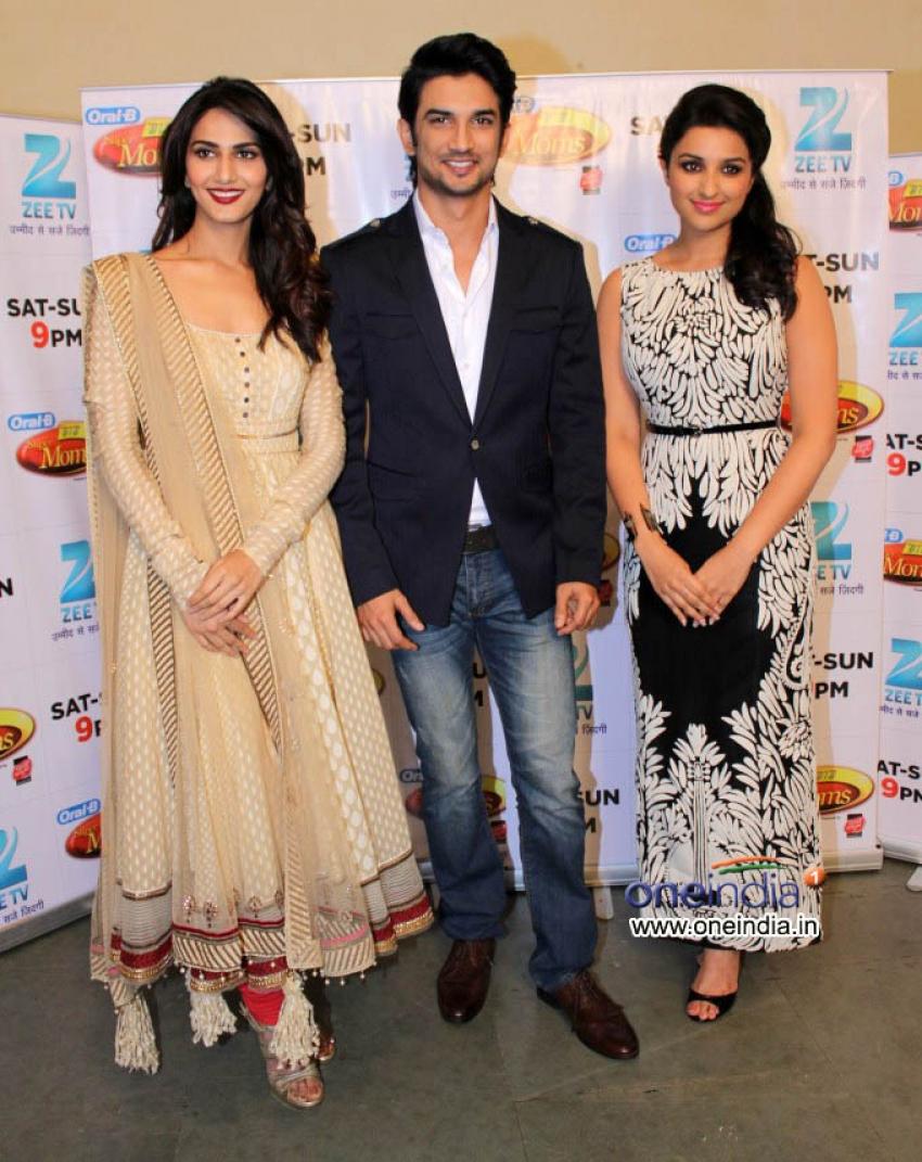 Shudh Desi Romance Movie Promotion at DID Super Mom Photos