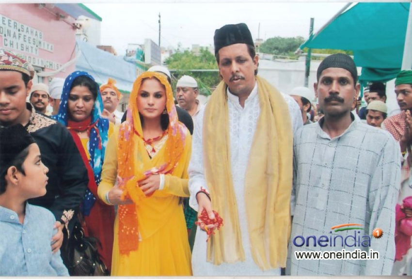 Veena Malik visits Ajmer Sharif Shrine Photos