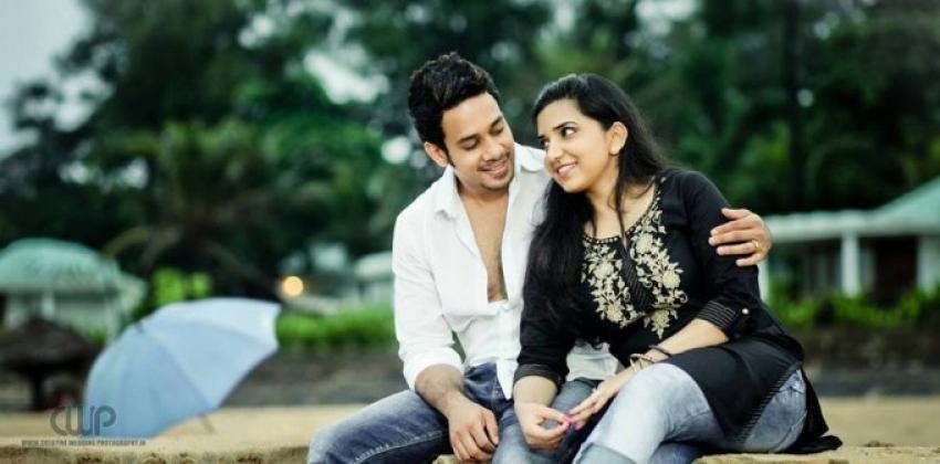 Actor Bharath and Jesslie wedding photoshoot Photos