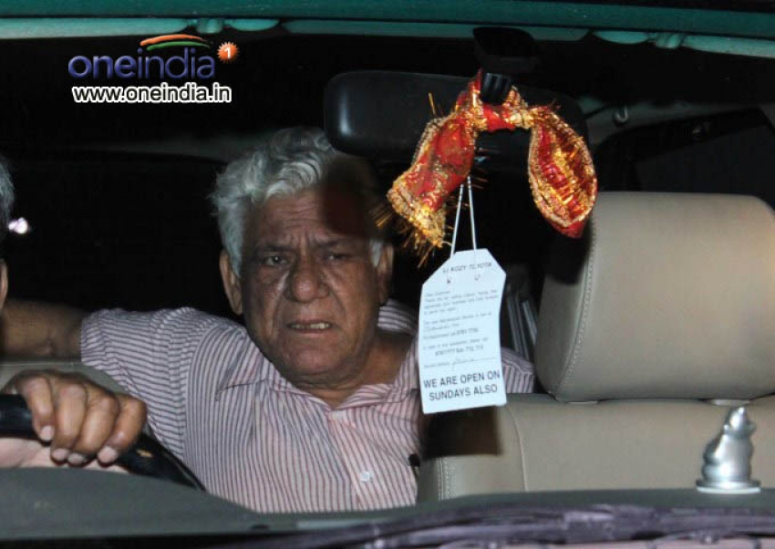 Actor Om Puri arrested, released on bail in assault case Photos