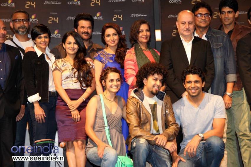 Launch of Anil Kapoor's 24 series Photos