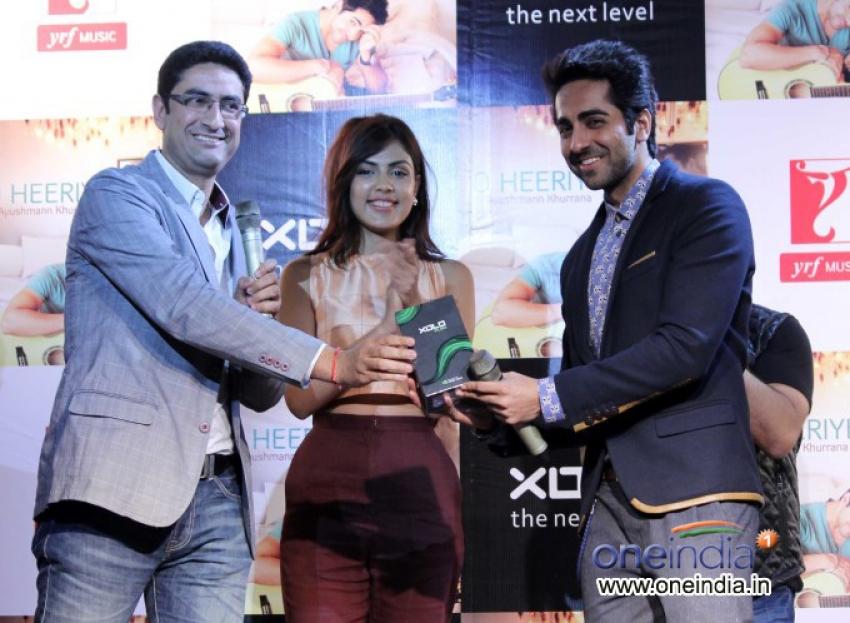 Ayushmann Khurrana launches music album on his birthday Photos