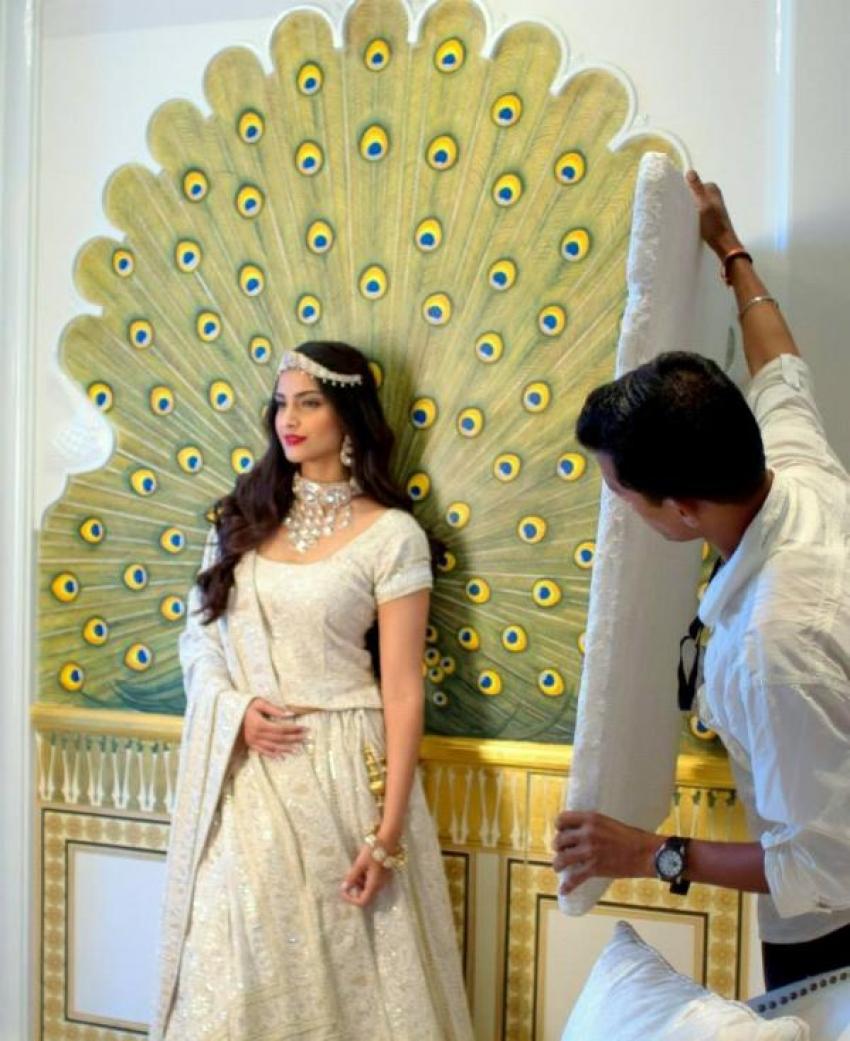 Sonam Kapoor's The Hindu Bridal Mantra cover shoot Photos