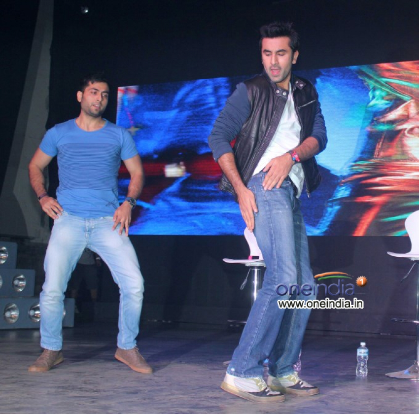 Launch of song Aare Aare from film Besharam Photos