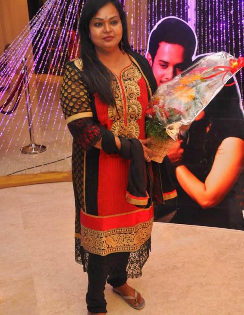 Actor Bharath and Jesslie wedding reception Photos