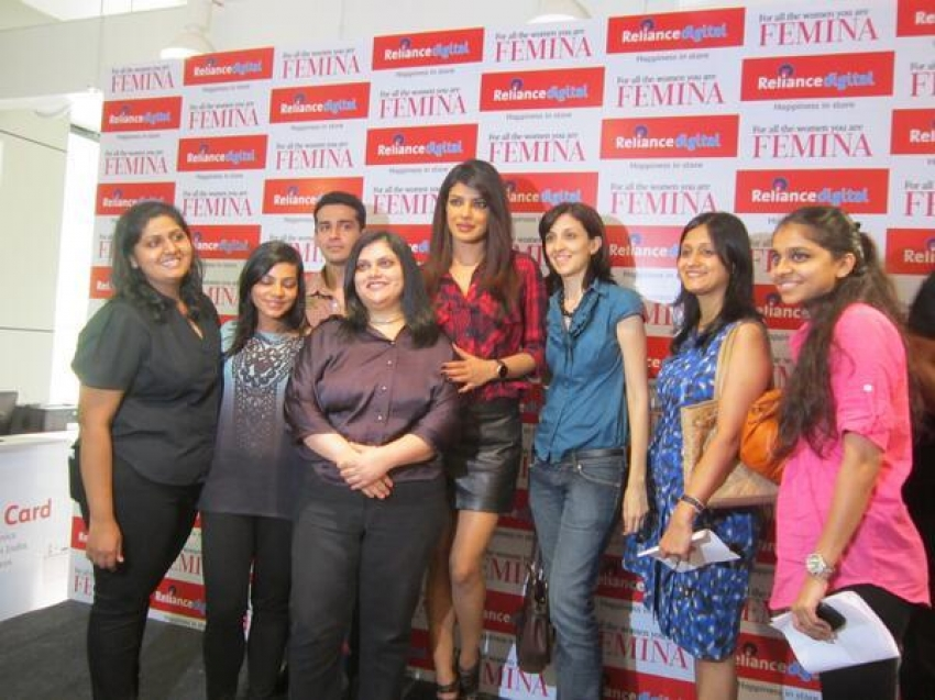 Cover launch of Femina Power magazine September 2013 Photos