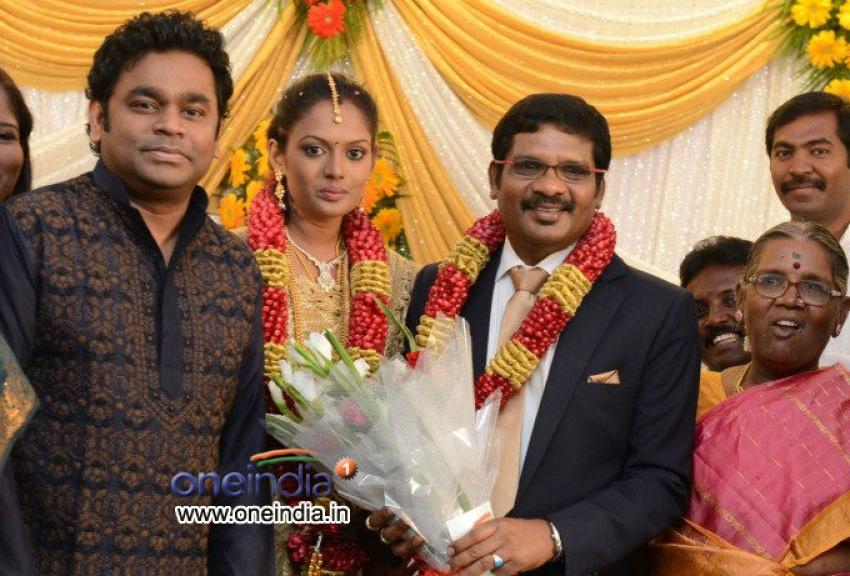 Director Kathir Wedding Reception Photos
