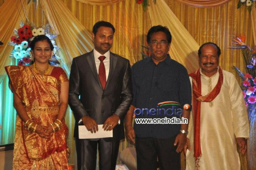 Director Senthilnathan Son's Reception Photos