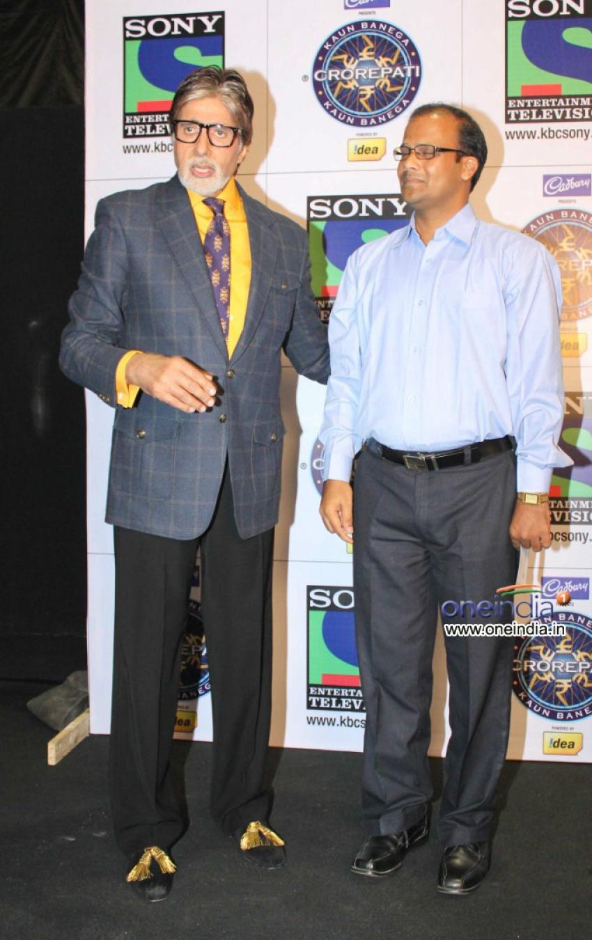 Taj Mohammed Rangrez wins 1 Crore in Kaun Banega Crorepati 7 Photos
