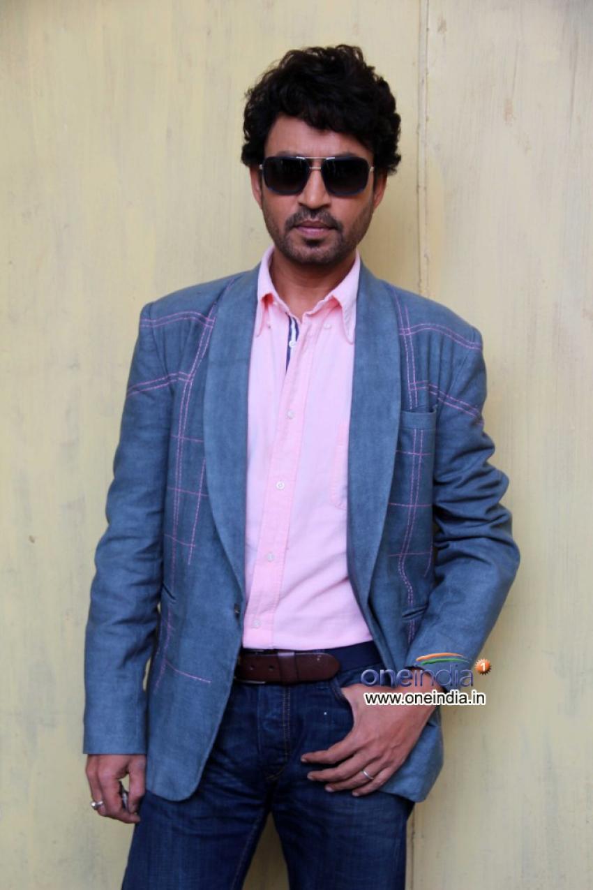 Irrfan Khan and Nimrat Kaur promotes film The Lunchbox Photos