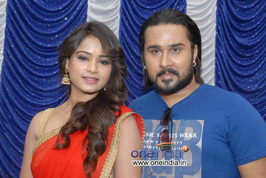 Kannada Film Action Muhurat Photos