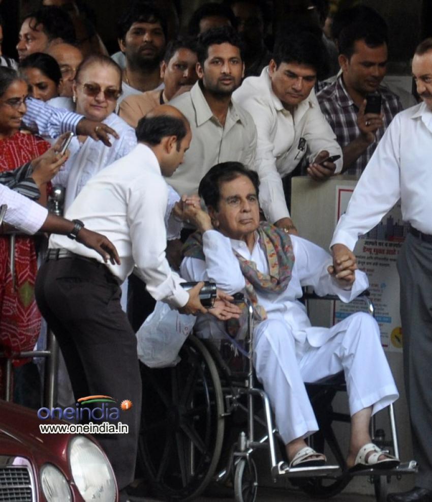 Dilip Kumar discharged from hospital Photos