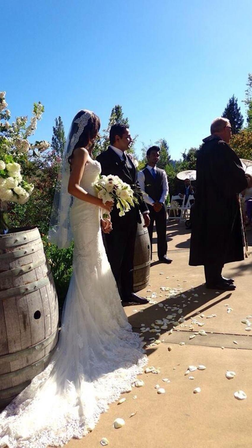 Parvati Melton's post wedding pictures Photos