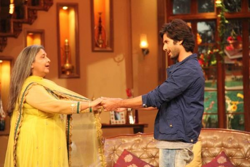 Phata Poster Nikhla Hero film promotion on the sets of Comedy Nights with Kapil Photos