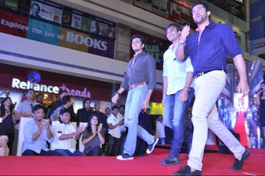Grand Masti film promotion at Delhi Photos