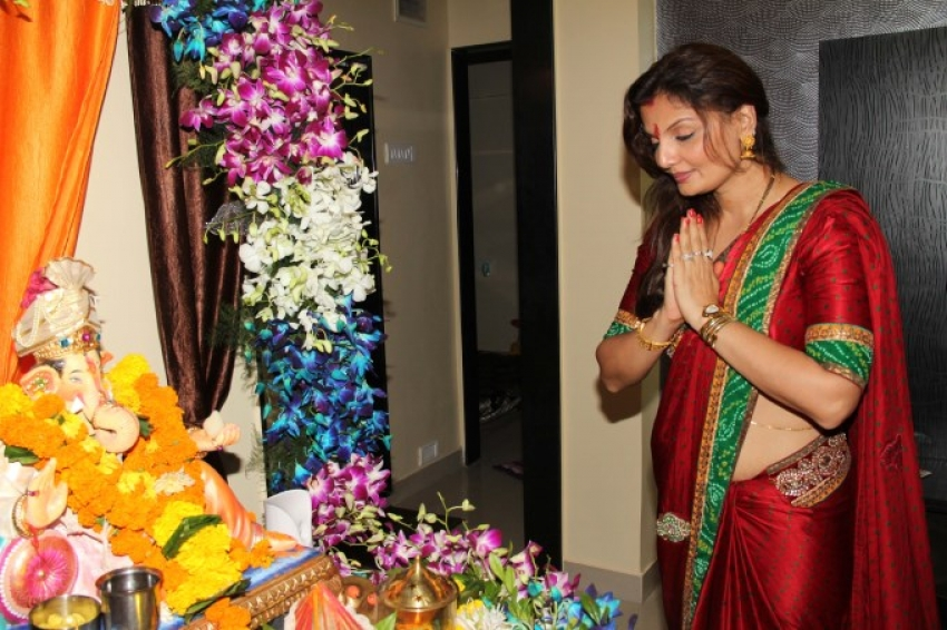 RT Chawla's Ganesh Chaturthi 2013 celebration Photos