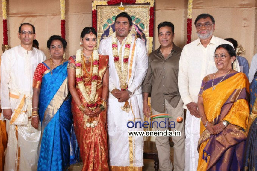 TG Thyagarajan son Sendhil Dhasha Wedding Photos