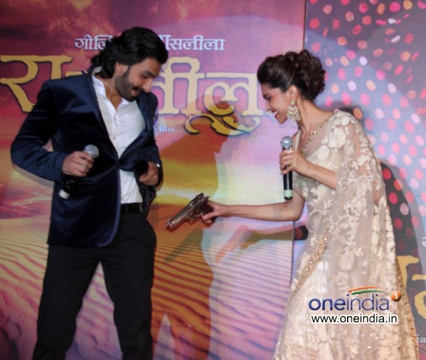 First Look Launch Of Ram Leela Photos