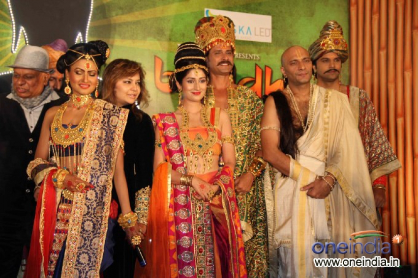 Press conference of Zee TV's serial Buddha Photos