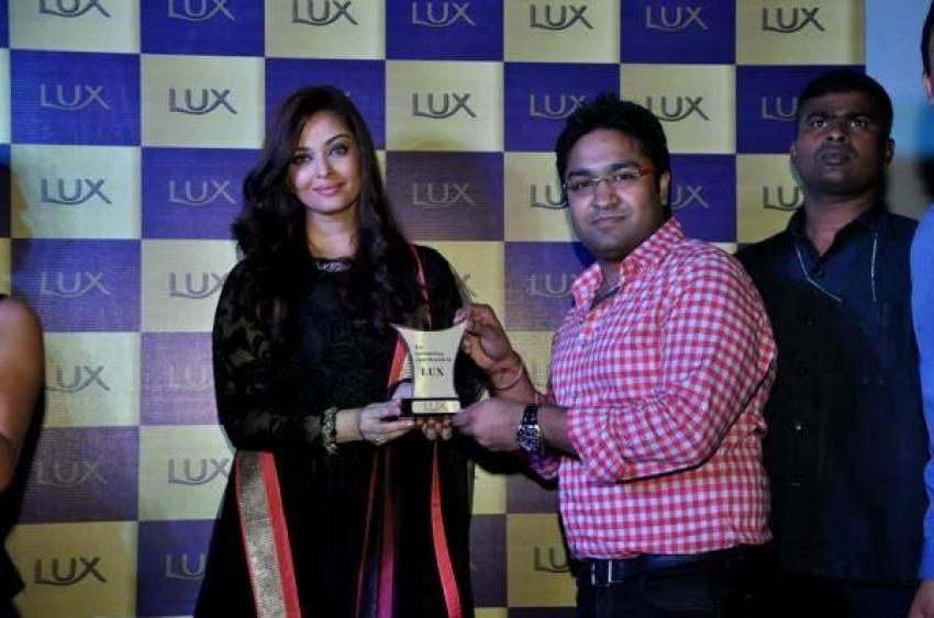Aishwarya Rai Bachchan at a Lux event in Delhi Photos