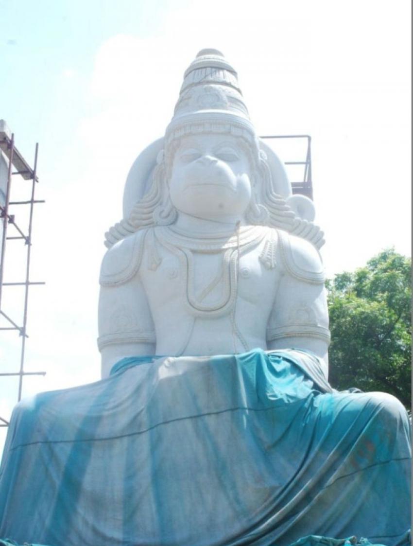 Actor Arjun Anjaneya Temple Photos