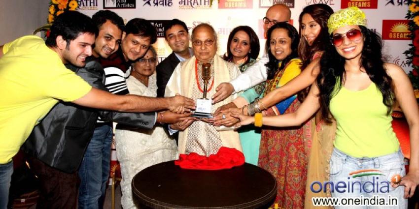 Announcement of IMA Marathi music awards 2013 Photos