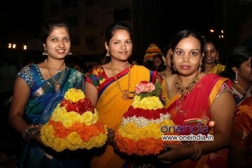 Bathukamma Festival Photos