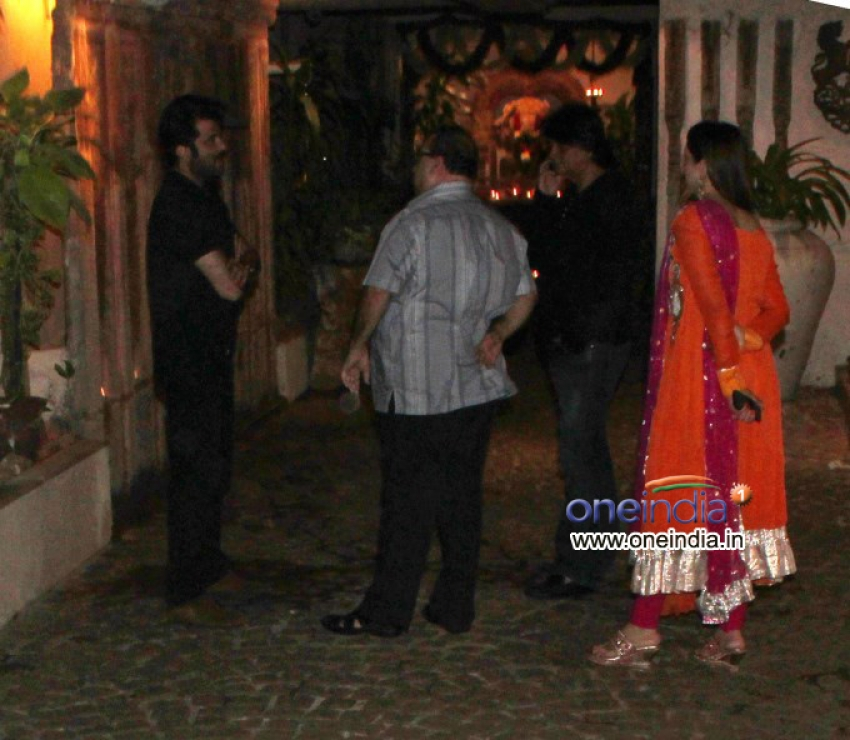 Karva Chauth party at Anil Kapoor's residence Photos