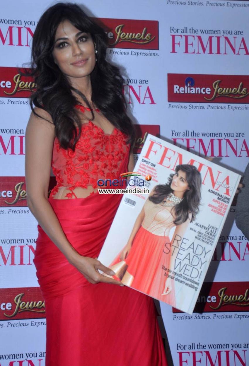 Chitrangada launches Femina Bridal coverpage Photos
