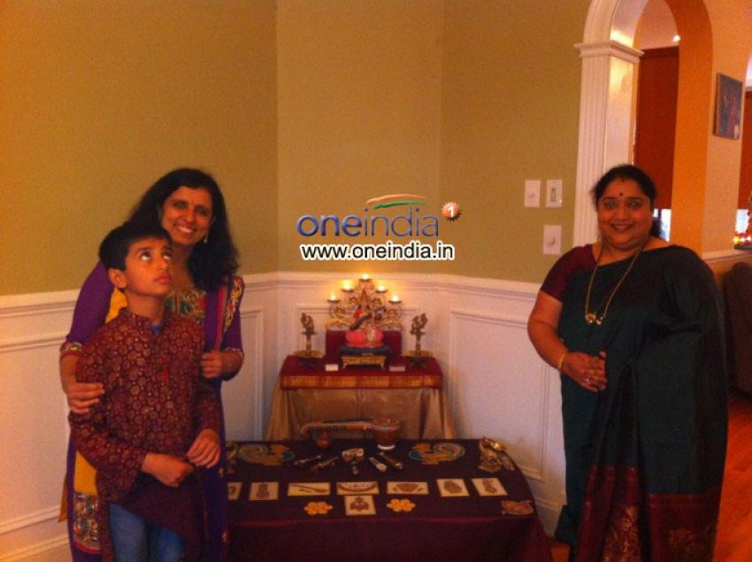 Dasara Doll Festival in USA Photos