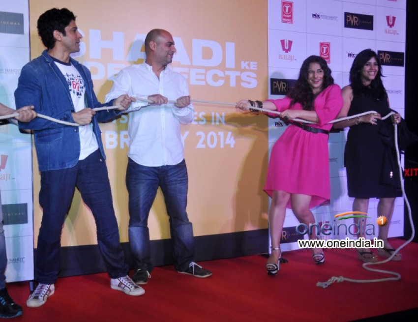 Trailer launch of film Shaadi Ke Side Effects Photos