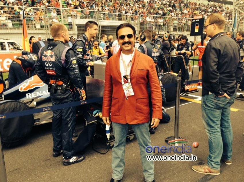 Gulshan Grover at F1 Delhi Photos