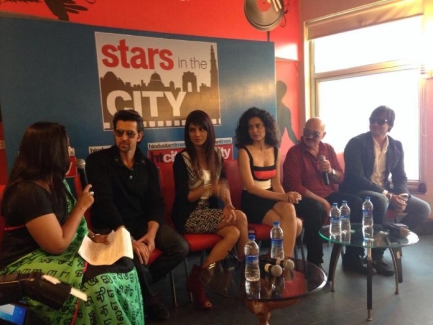 Krrish 3 film promotion at New Delhi Photos