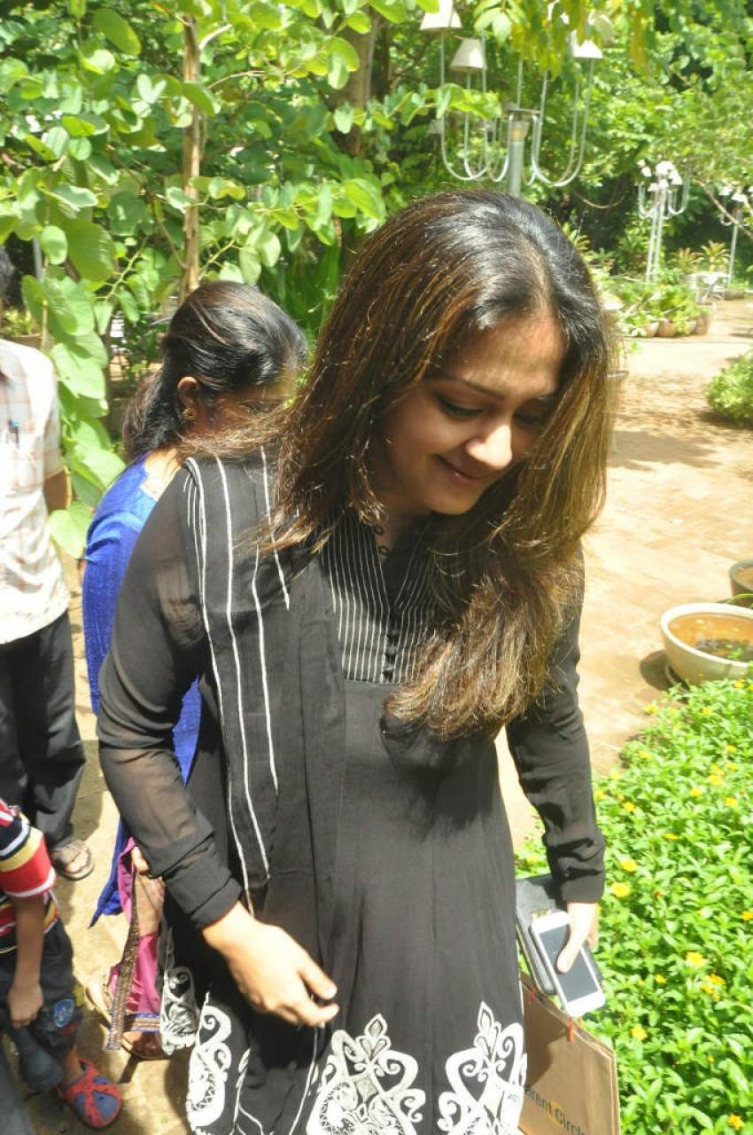 Jyothika Launches Indira Child Care Website Photos