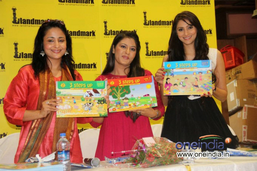 Launch of children book 3 steps up Photos