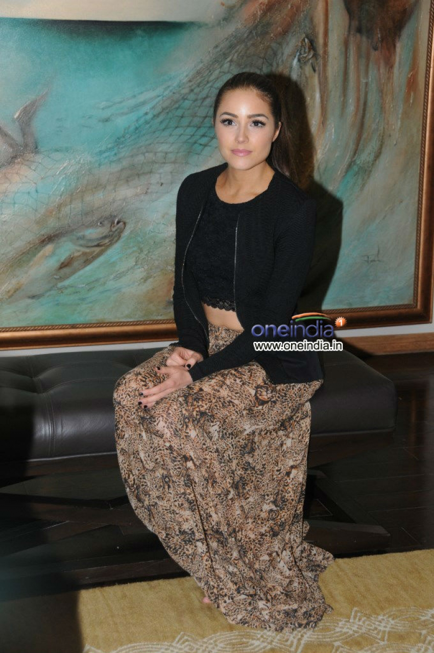 Miss Universe Olivia Frances Culpo India tour press meet Photos