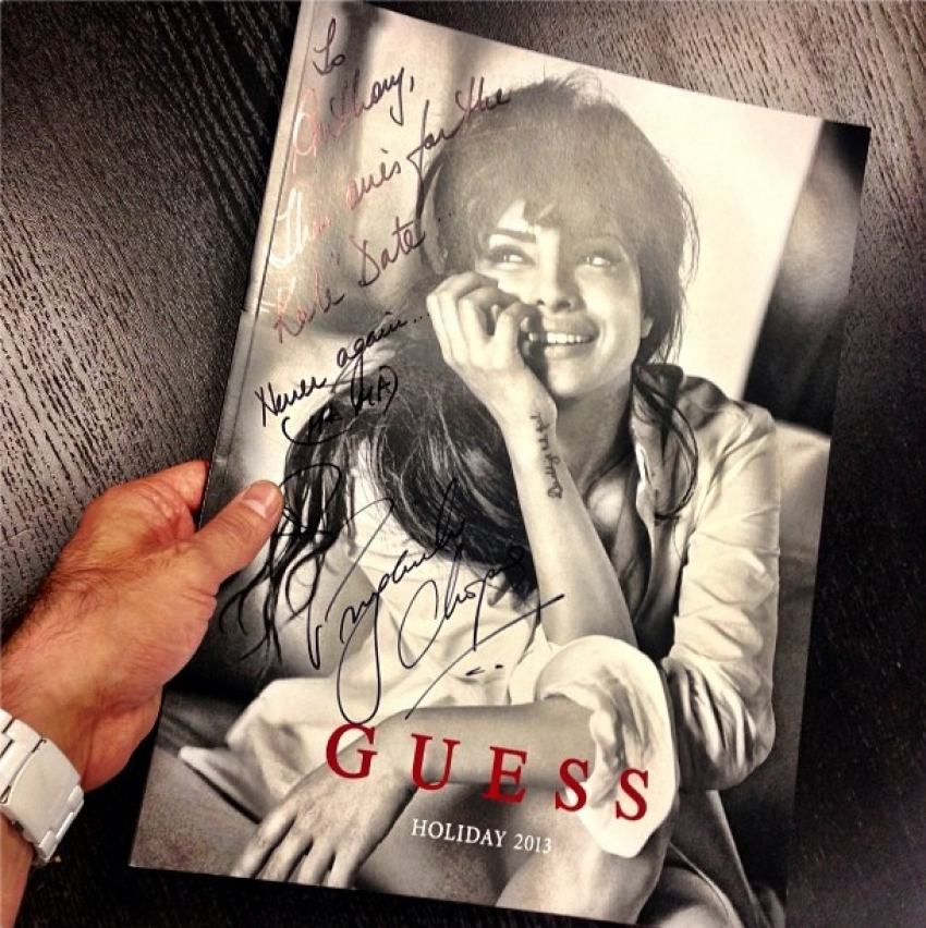 Priyanka Chopra becomes global brand ambassador for Guess! Photos