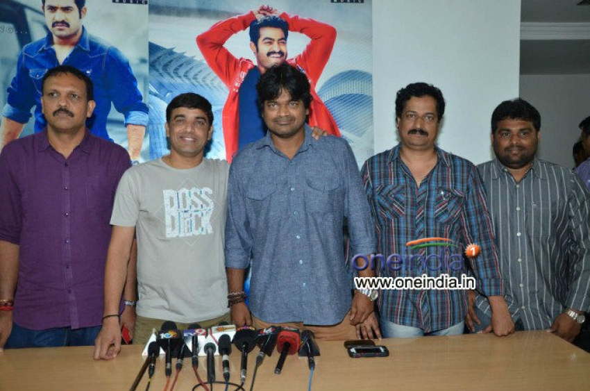 Ramayya Vastavayya Press Meet Photos