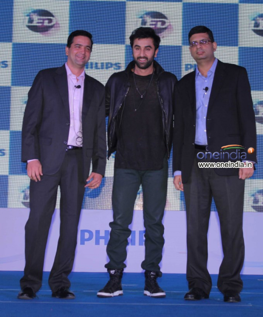 Ranbir Kapoor brand ambassador for Philips Lighting Photos