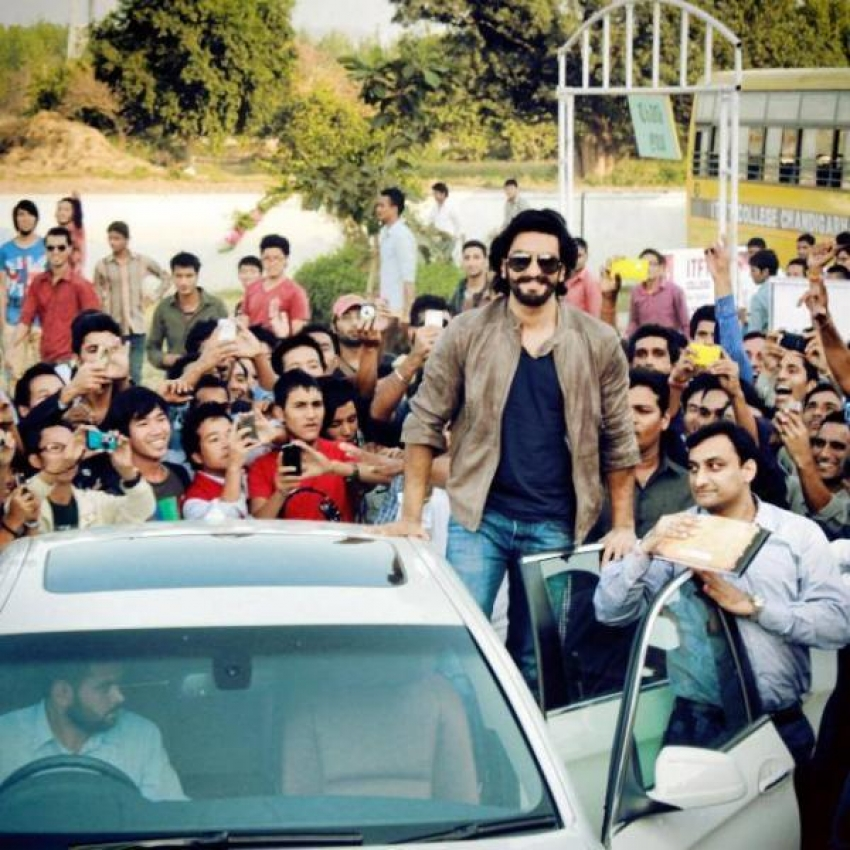 Ram Leela promotion at ITFT College in Chandigarh Photos